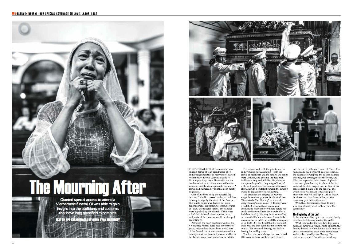 Recent Tearsheets from Oi Vietnam